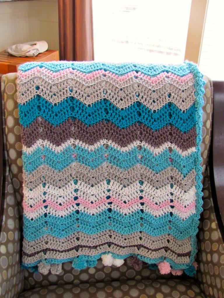 Macy's Chevron Blanket - bellarosabakingco