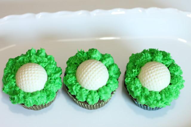 Golf Ball Cupcakes Bellarosabakingco